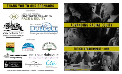 Advancing Racial Equity brochure