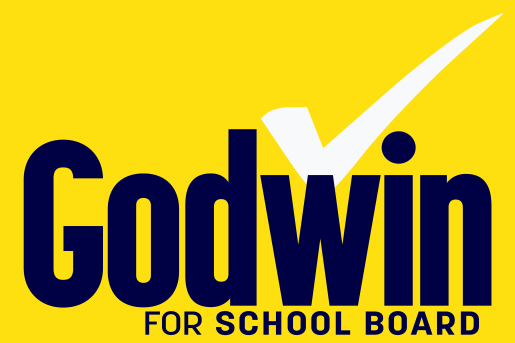 Godwin for School Board yard sign